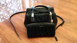 COACH MADISON GATHERED  BAG & MATCHING WALLET Unley Unley Area Preview