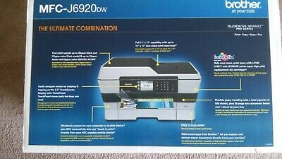 Brother MFC-J6920DW 11x17 wide format All-in-One Wireless Inkjet Color Printer  17 Wide Inkjet Printer