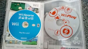 Wii sports and wii play