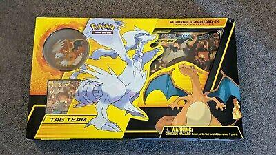 Pokemon TCGO - Reshiram & Charizard GX - Figure Collection Box Set
