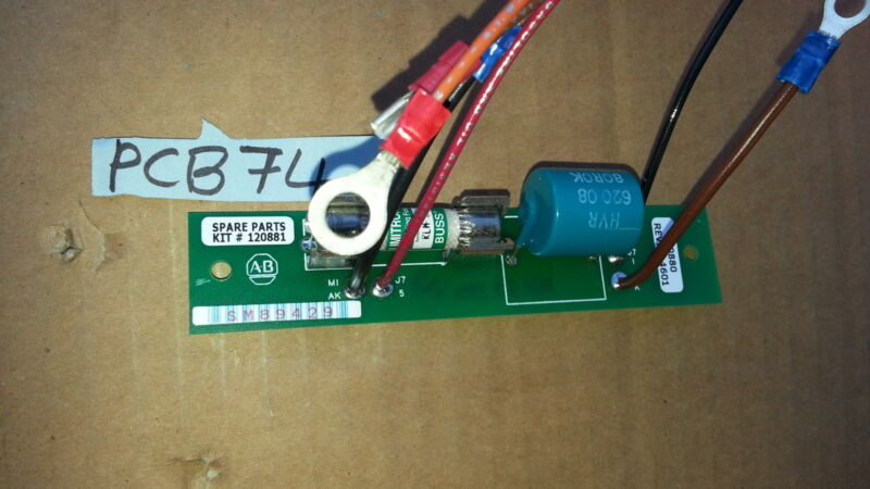 NNB ALLEN BRADLEY 120881 FUSE BOARD PCB CIRCUIT