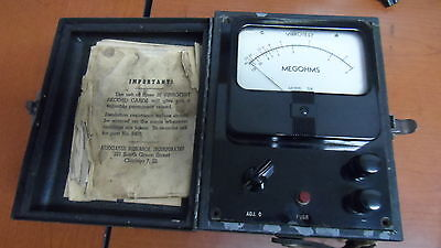 Vintage Associated Research Model 218 Vibrotest