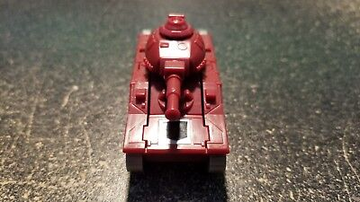 Transformers G1 - WARPATH - 100% Complete Unbroken Vintage MINI BOT Vehicle