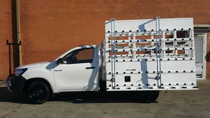 Glass Carrying Rack A-Frame for Utes Double Sided Loading Glass Cheltenham Kingston Area Preview
