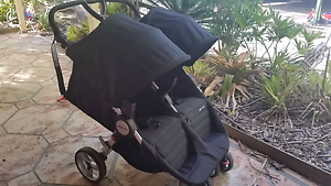 Steelcraft agile twin double pram strollee Morayfield Caboolture Area Preview