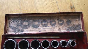 Sidchrome witworth socket set Salisbury Downs Salisbury Area Preview