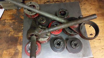 Ridgid 12r 18 To 2 Inch Pipe Ratchet Threader Die Head Set Handle 300 700 12-r