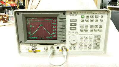 Hpagilent 8591e Spectrum Analyzer Wopts 010 041 9khz To 1.8ghz