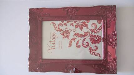 Picture frames, four small frames