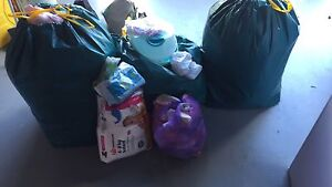 Bags of baby girl clothes and other stuff Dunlop Belconnen Area Preview