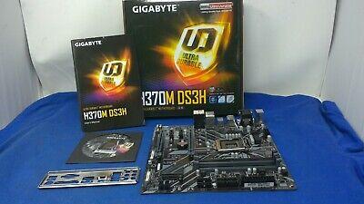 GIGABYTE H370M DS3H Ultra Durable Motherboard, Intel 8th Gen 4 DDR4, LGA1151