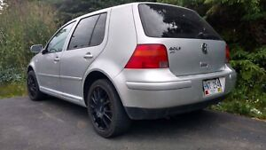 2007 VW Golf City (4 door hatch back)