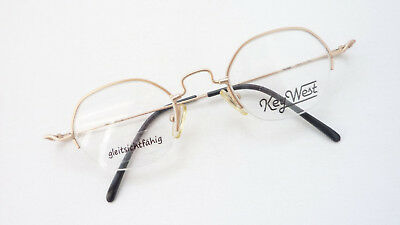 Glasses Frame Teilrandlos Brands Frames Key West New Golden Oldschool SIZE L