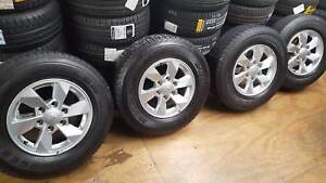 SECONDHAND GENUINE MITSUBISHI 16 INCH TRITON WHEELS + TYRES Doncaster East Manningham Area Preview
