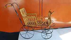 Vintage Cane Doll Display Pram Carriage Brookvale Manly Area Preview