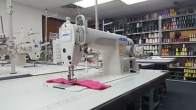 Juki Ddl-8700 Single Needle Straight Stitch Sewing Machine - Assembled