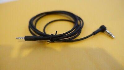 Usado, GENUINE Black Audio Cable AUX Cord Wire JBL Synchros E40BT/E50BT/J56BT Headphone comprar usado  Enviando para Brazil