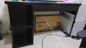 Study / office desk with built in bookshelves and drawer Phillip Woden Valley Preview