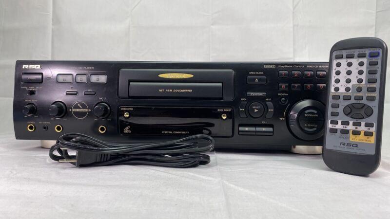 RSQ RSQ-SV222 NTSC/PAL Video CD VCD 2.0 Karaoke Digital Player