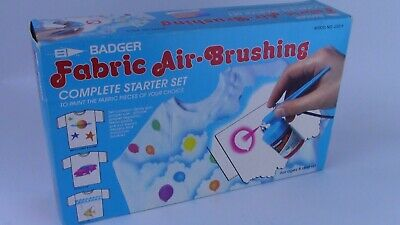 Badger Fabric Airbrush Set New. Complete Starter Kit.