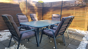 Table and chairs outdoors Hackham West Morphett Vale Area Preview