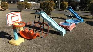 Slippery Dips, Toddlers Play Gym Equipment Old Bar Greater Taree Area Preview