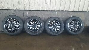 """4 x 20"""" rims and tyres $600 ONO St Kilda Port Phillip Preview"""