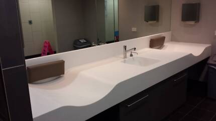 Solid Surface Benchtops - CORIAN - for indoor & outdoor use Sunshine West Brimbank Area Preview