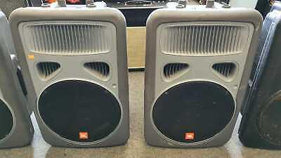 "Pair of JBL Eon PowerSub 15"" Active Subwoofers Powered PA Speakers 800W"