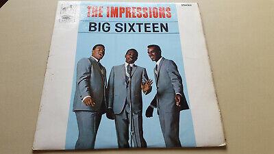 IMPRESSIONS - BIG SIXTEEN ...HMV LP