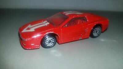 Hot Wheels Turbo Trax Ferrari Testarossa
