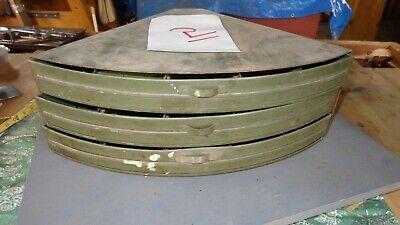 Vintage Industrial 3 Drawer Metal Corner Hardware Parts Cabinet Bin  2
