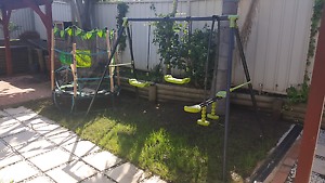 Swing and trampoline Casula Liverpool Area Preview