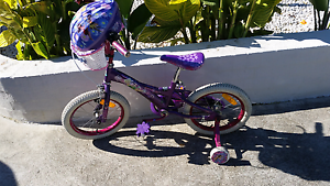 Tinkabell bike plus tinkabell helmet Roselands Canterbury Area Preview