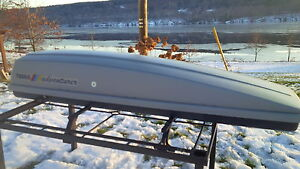 Thule Roof Box and Cross Bars for Sale