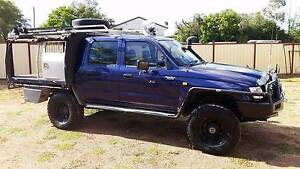 2004 Toyota Hilux Ute dual cab, cab chassis Monto North Burnett Area Preview
