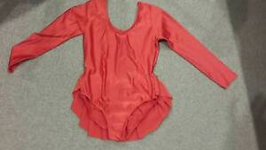 Dancing costume women's red leotard size 10 Dingley Village Kingston Area Preview