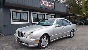 2000 Mercedes Benz E55 AMG 350 HP! CERTIFIED ETESTED  $5999+taxe