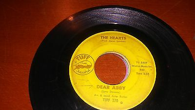 The Hearts Dear Abby Tuff 45 370 R B Soul
