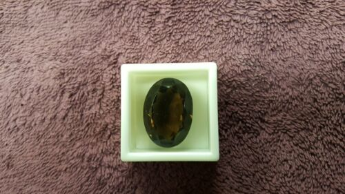 JTV 28x20mm Oval Smoky Quartz. 54.55 ct VVS Clarity