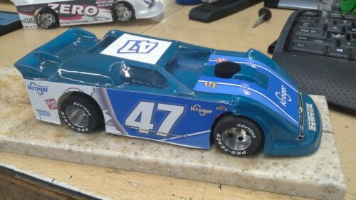 New Dirt Latemodel Ready to Race Car WOW !!! Blue #47 Very Sharp