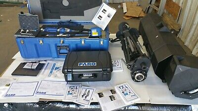 New Faro Titanium 6ft 7 Axis Scanarm System A06 Arm W 3-d Laser Scanner