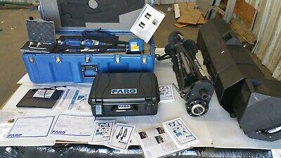 New Faro Titanium 6ft 7 Axis Scanarm System A06 Arm W 3-d Laser Scanner