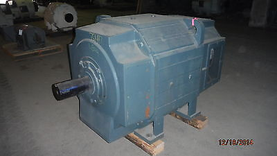 500 HP DC Reliance Electric Motor, 400 RPM, B844AT Frame, DPFV, 500 V