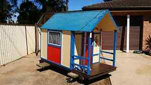 LARGE CUBBY HOUSE WITH  ACCESSORIES  AND FURNITURE South Windsor Hawkesbury Area Preview