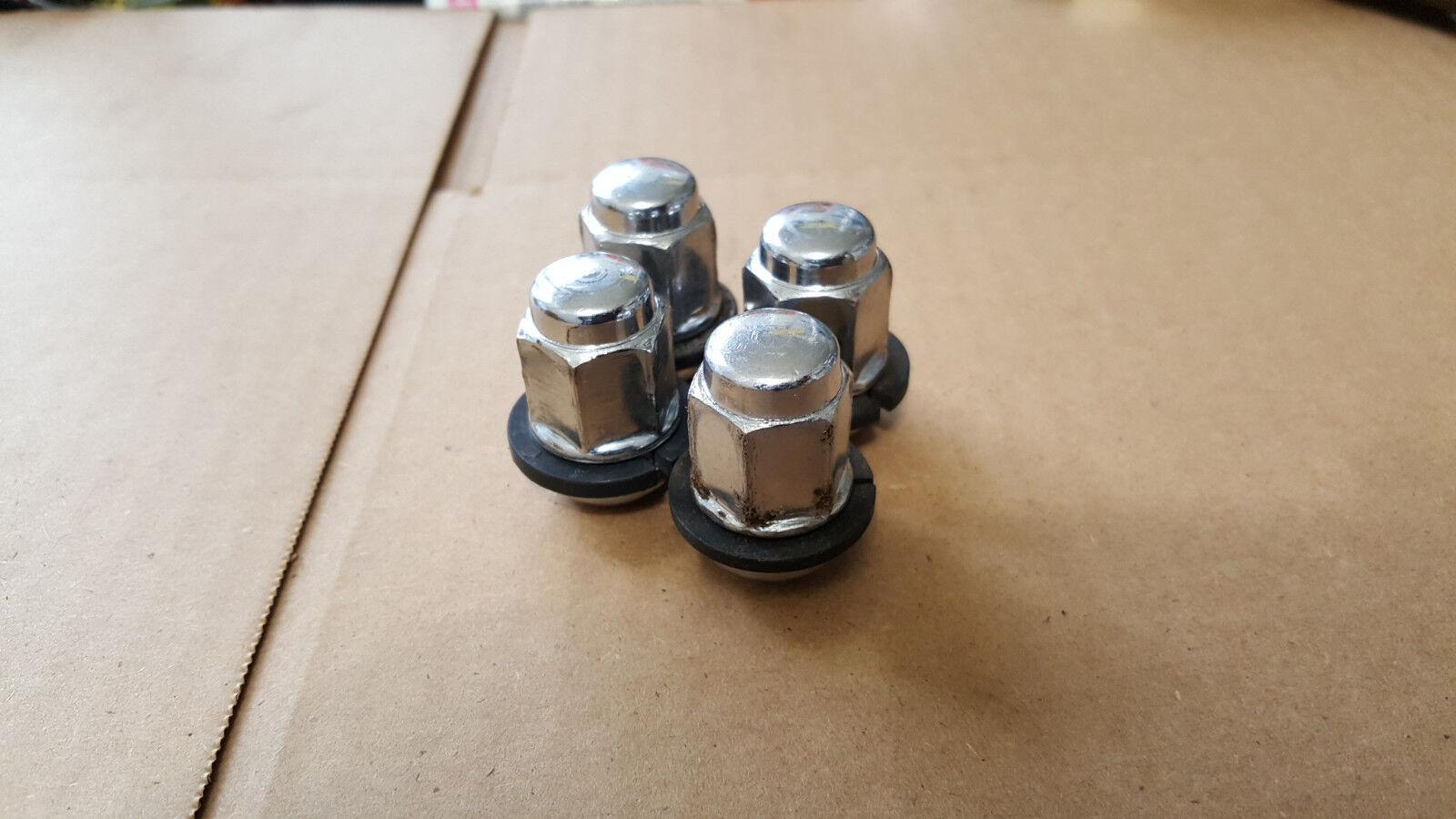 qty 2 nut oem chrome  oem 90381-sv1-981 c7 93-14 honda accord civic wheel lug