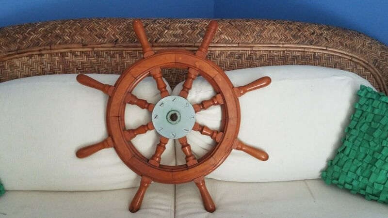 Vintage Wooden Ship