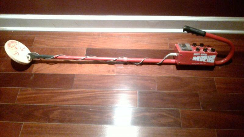BOUNTY HUNTER RED BARON Metal Detector MRB MINI RED BARON
