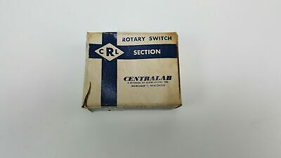 Centralab Ceramic Rotary Switch Section - Nos - Sd