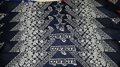 DALLAS COWBOYS BANDANA BAND (Cowboy Bandanas)